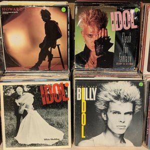 Billy idol  eps / bundle / vinyl records
